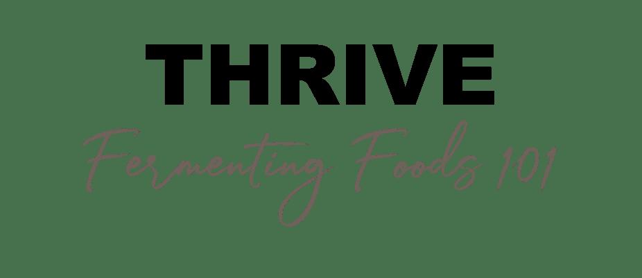 Fermented Food Workshop